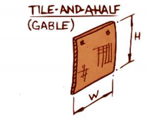 Peg Gable Tiles