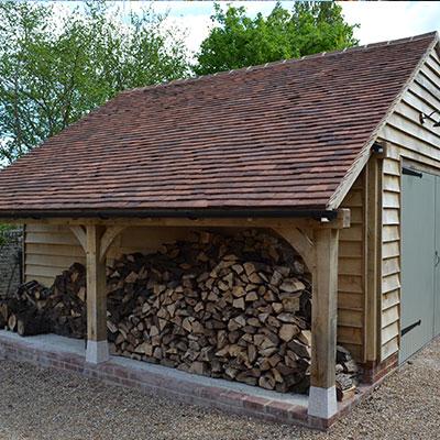 michael miller testimonial for spicertiles photo of kent roof tiles on wooden garage