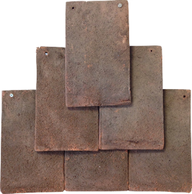 Kent Peg clay tile in the colour dark antique. We sell these tiles, click here to take you to the product page.