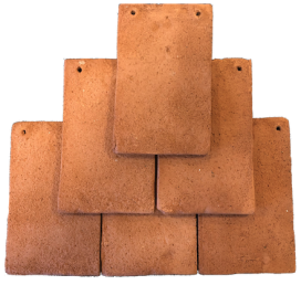 Kent Peg clay tile in the colour red antique. We sell these tiles, click here to take you to the product page.